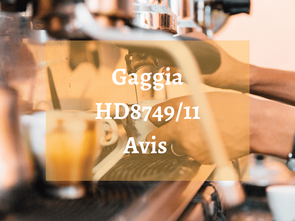 Où trouver la machine à café Gaggia–HD87491 ?