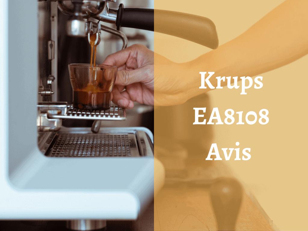 Où trouver la machine à café Krups EA8108 ?